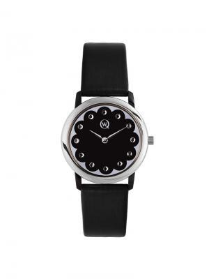 Часы ювелирные коллекция Limited edition, QWILL, Часовой завод Ника QWILL. Цвет: черный