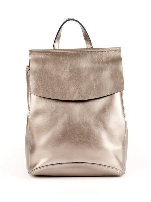 Рюкзак Best&Best. Цвет: серебристый, бронзовый
