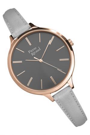 Наручные часы PIERRE RICAUD. Цвет: розовый, серый