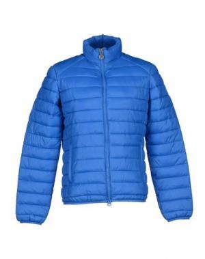 Куртка GABARDINE. Цвет: ярко-синий