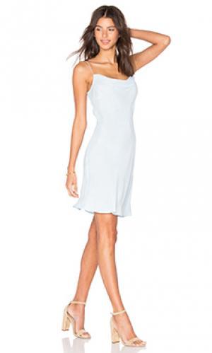 Платье debbie AGAIN. Цвет: синий