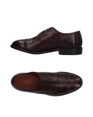 Обувь на шнурках ALLEN EDMONDS. Цвет: темно-коричневый