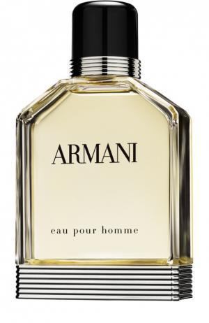 Туалетная вода Eau Pour Homme Giorgio Armani. Цвет: бесцветный
