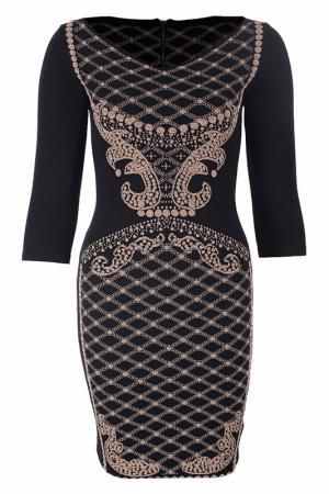 Платье D.Exterior. Цвет: черный