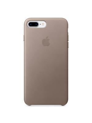 Чехол (клип-кейс) Apple для iPhone 7 Plus MPTC2ZM/A, платиново-серый. Цвет: серый