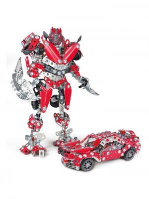 Конструктор Железный Робот 2XL Склад Уникальных Товаров. Цвет: серебристый