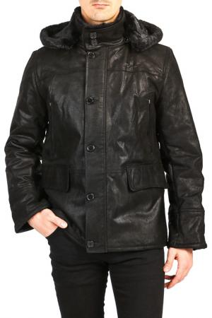 Куртка Isaco & Kawa. Цвет: черный