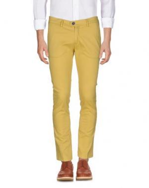 Повседневные брюки BARBATI. Цвет: желтый