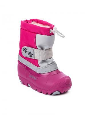 Сноубутсы PlayToday. Цвет: розовый