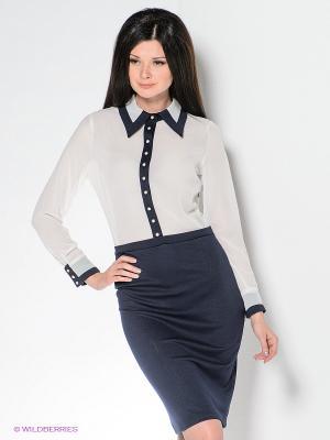 Платье Enna Levoni. Цвет: белый, синий