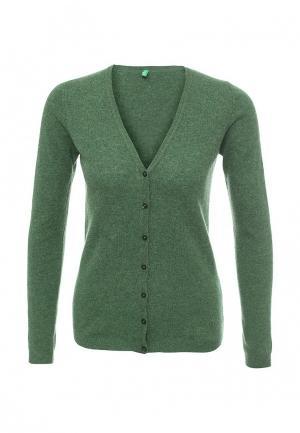 Кардиган United Colors of Benetton. Цвет: зеленый