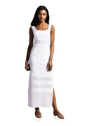 Платье PATRIZIA DINI. Цвет: белый