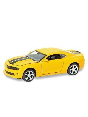Машина металлическая 1:32. HOFFMANN. Цвет: черный, желтый