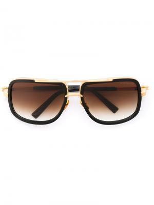 Солнцезащитные очки Machone Dita Eyewear. Цвет: чёрный