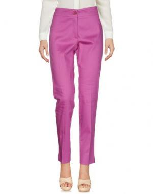 Повседневные брюки PAZ TORRAS. Цвет: розовато-лиловый