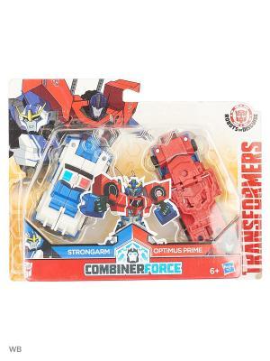 Трансформеры роботы под прикрытием: крэш-комбайнер Transformers. Цвет: белый, красный, синий