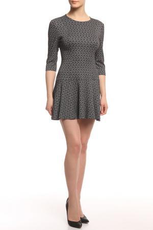 Платье трикотажное Rocawear. Цвет: черный