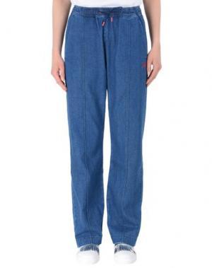 Джинсовые брюки ÊTRE CÉCILE. Цвет: синий