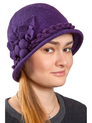 Шляпа Three S. Цвет: сливовый