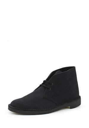 Ботинки Clarks. Цвет: синий