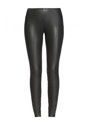 Кожаные брюки 162562 Jitrois. Цвет: черный