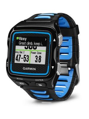 Умные часы Forerunner 920XT HRM-Run черно-синий с пульсометром GARMIN. Цвет: черный