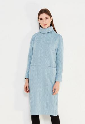 Платье Profito Avantage. Цвет: голубой