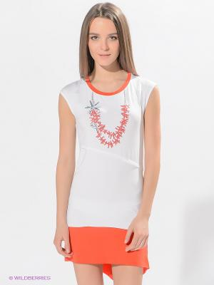 Платье Grishko. Цвет: белый, красный