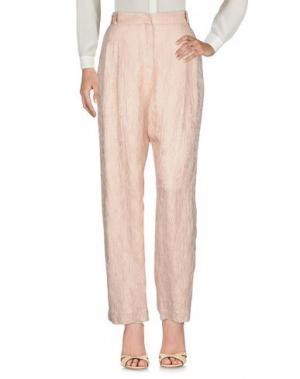 Повседневные брюки KOCHÉ. Цвет: бежевый