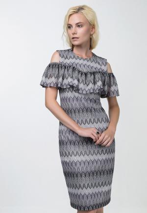 Платье Audrey Right. Цвет: разноцветный
