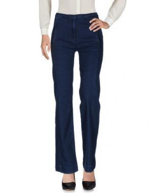 Повседневные брюки MIGUEL PALACIO for HOSS INTROPIA. Цвет: синий