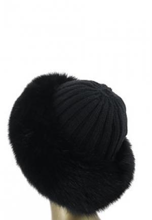 Шапка NIMA. Цвет: черный
