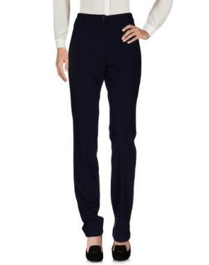 Повседневные брюки LAURÈL. Цвет: темно-синий