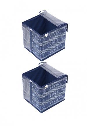 Система хранения для одежды 2 пр. Homsu. Цвет: синий