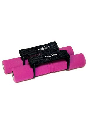 Гантель неопреновая STAR FIT DB-203 0,5 кг, розовая Starfit. Цвет: розовый
