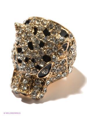 Кольцо AVGAD. Цвет: золотистый, черный, серебристый