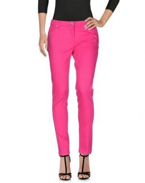 Джинсовые брюки KENZO. Цвет: фуксия