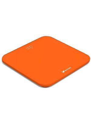 Весы напольные КТ-802-4 оранжевый Kitfort. Цвет: оранжевый