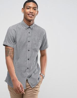 Jack & Jones Рубашка с короткими рукавами. Цвет: серый