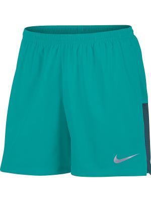 Шорты M NK FLX CHLLGR SHORT 5IN Nike. Цвет: зеленый, синий