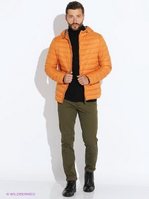 Пуховик GEOX. Цвет: светло-оранжевый