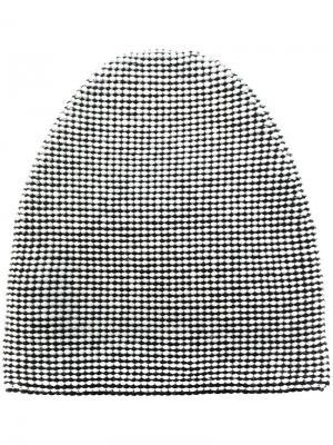 Текстурированная шапка Alexander Wang. Цвет: белый