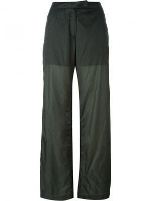 Широкие брюки Arthur Arbesser. Цвет: зелёный