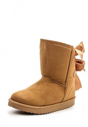 Полусапоги Fashion & Bella. Цвет: коричневый