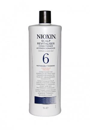 Увлажняющий кондиционер Система 6 Nioxin. Цвет: белый