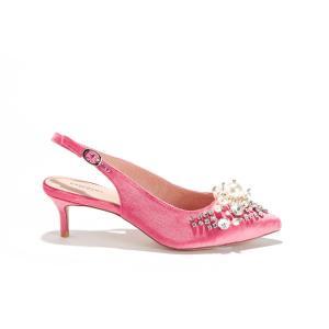 Туфли синтетические PASTIS ESSENTIEL ANTWERP. Цвет: розовый