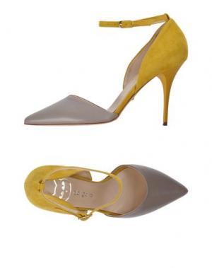 Туфли DEL GATTO. Цвет: серый