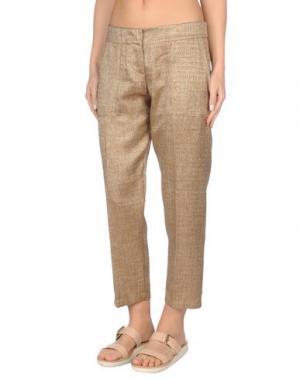 Пляжные брюки и шорты TWIN-SET Simona Barbieri. Цвет: коричневый