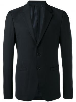 Пиджак строгого кроя Wooyoungmi. Цвет: синий