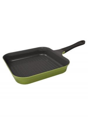 Сковорода-гриль с индукционным дном Oliva Frybest. Цвет: зеленый (оливковый)